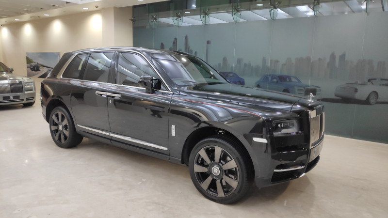 Rolls Royce Cullinan introduced in India for Rs 6.95 crore