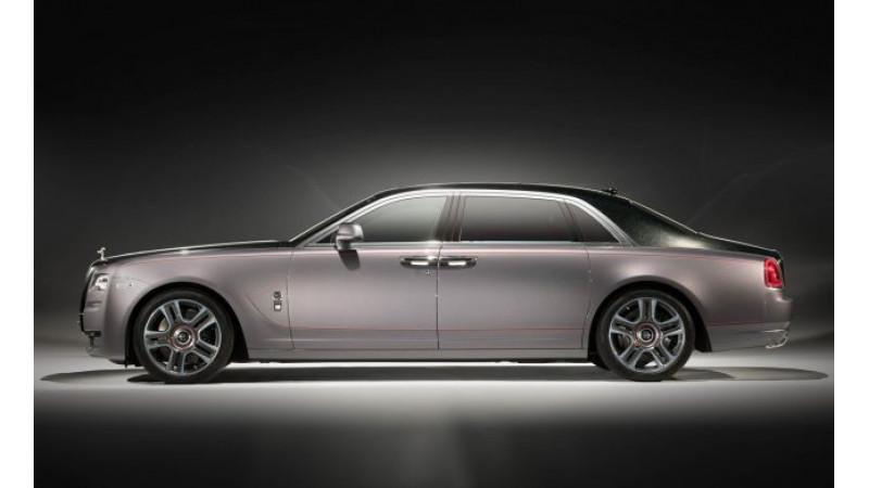 Geneva 2017: Diamond encrusted Ghost is Rolls Royce   s star