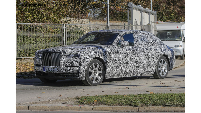Spy shots reveal more details about new Phantom