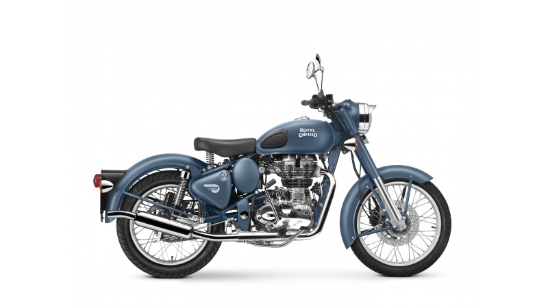 Royal Enfield Classic 500 introduced in a new squadron blue colour