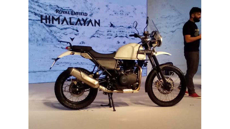 Royal Enfield launches the Himalayan at Rs 1.55 lakh