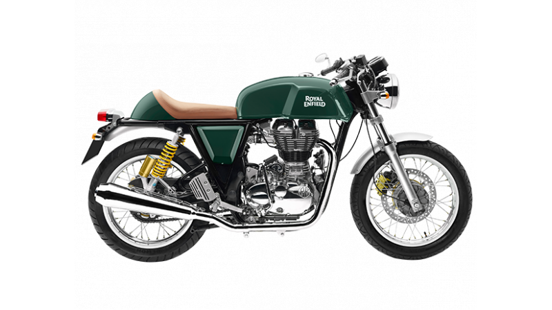 Royal Enfield replaces Yellow with Green on Continental GT