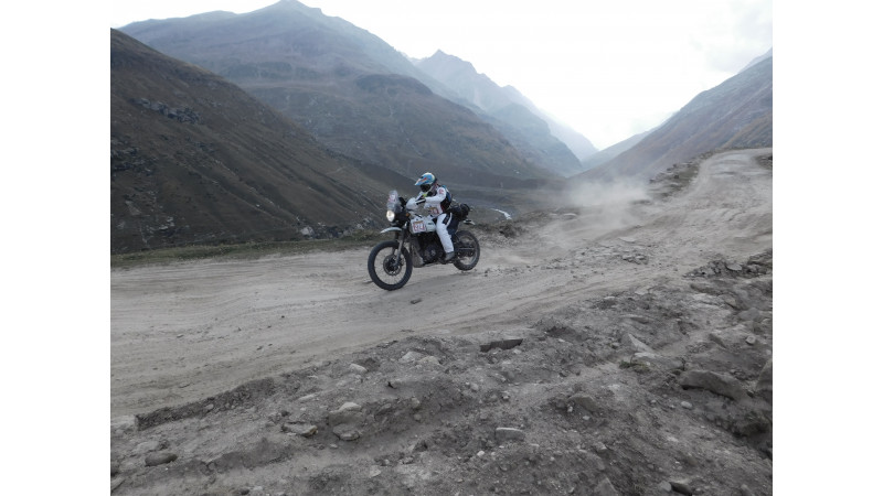 18th Raid de Himalaya - Top five racers in Xtreme category
