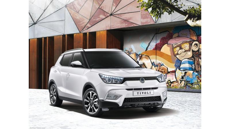 Mahindra developing SUV based on Ssangyong Tivoli platform