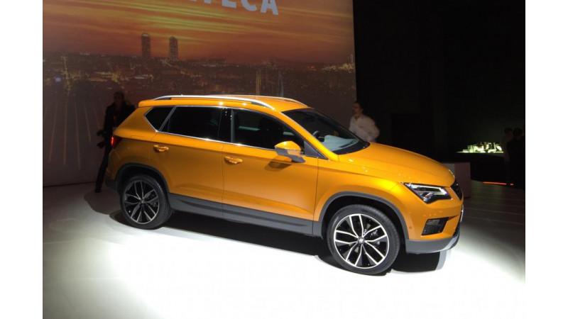 Seat Ateca SUV showcased ahead of Geneva Motor Show