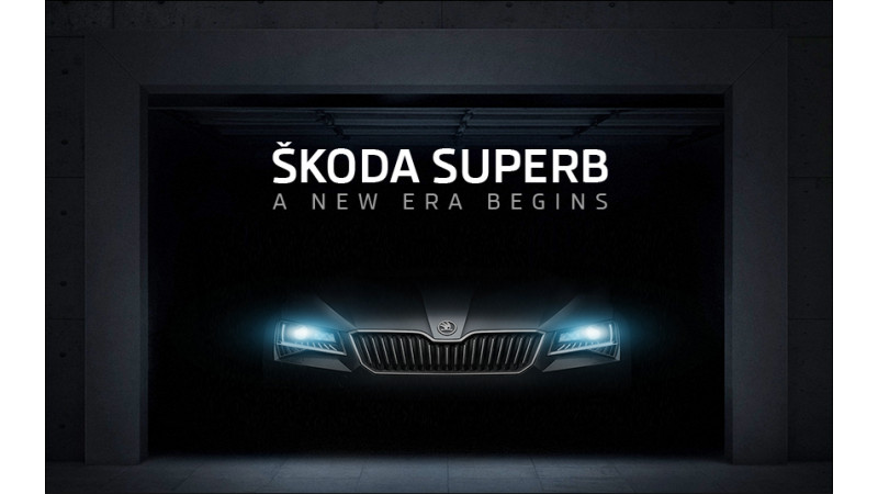 Skoda India teases new Superb on official website