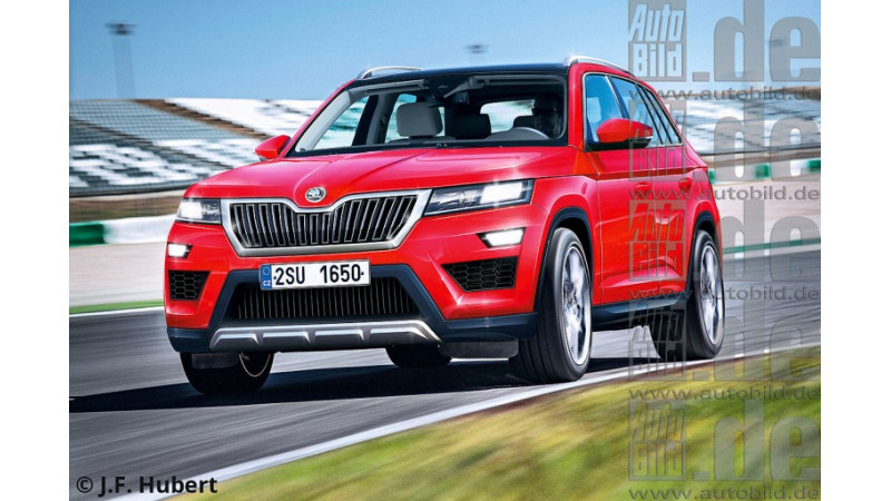 Skoda Kodiak     Seven-seater crossover in-works