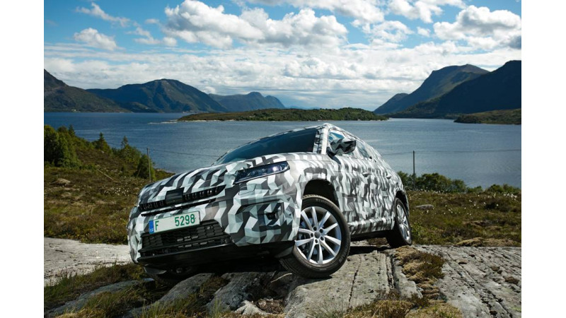 Skoda Kodiaq to be launched at the start of 2017