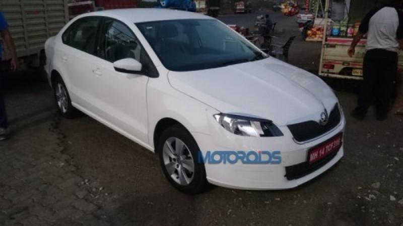 Volkswagen global confirms Skoda Rapid facelift for India