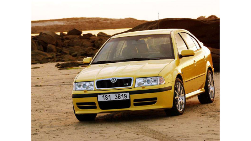 Octavia RS the first performance sedan in India