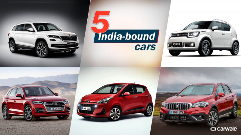 2016 Paris Motor Show: India-bound cars