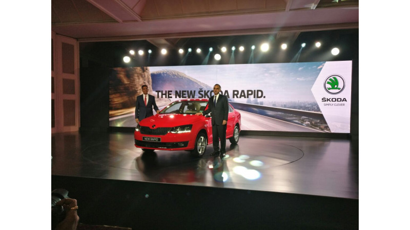 New Skoda Rapid launched at Rs 8.34 lakh