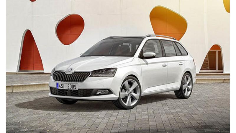 2018 Geneva Motor Show: Skoda reveals the Fabia and Fabia Combi