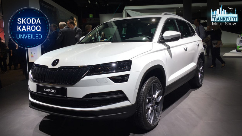 Frankfurt Motor Show 2017: India-bound Skoda Karoq showcased