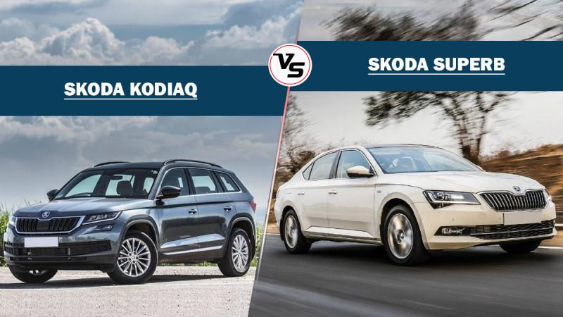 Skoda Kodiaq Vs Skoda Superb - Sibling rivalry check