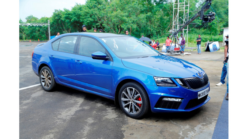 Skoda Octavia RS introduced in India at Rs 24.62 lakhs