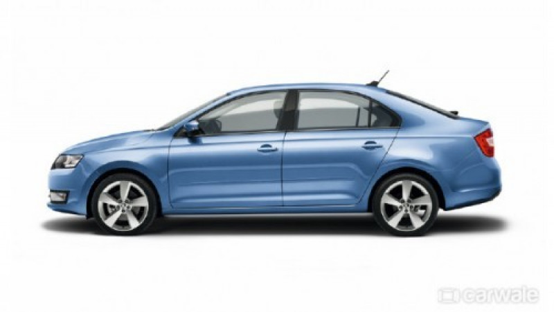 Skoda Rapid facelift launch on November 3rd