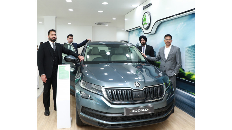 Skoda India inaugurates a new facility in Jammu