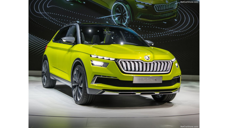 Geneva 2018: Skoda Vision X is a new compact urban SUV