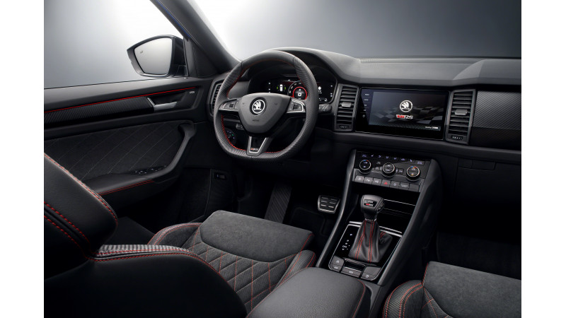 2019 Skoda Kodiaq Rs Interiors Revealed Cartrade