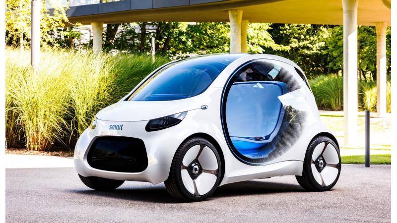 Smart reveals a vision EQ fortwo concept