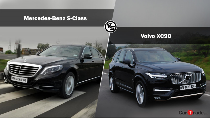 Spec comparo: Volvo XC90 Excellence T8 Hybrid Vs Mercedes-Benz S-Class S400