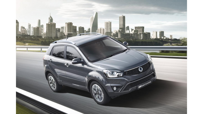 SsangYong UK launches limited edition of the Korando