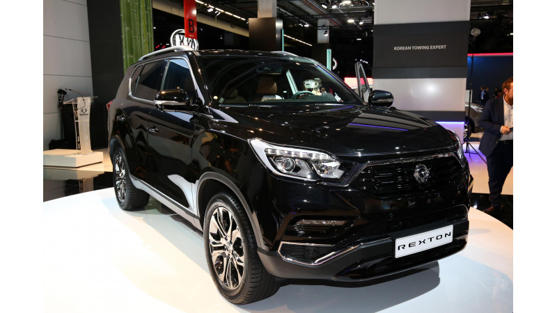Frankfurt Auto Show 2017: 2018 SsangYong Rexton may come to India as a Mahindra