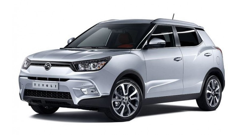 Mahindra SsangYong Tivoli arrives in India for research and development
