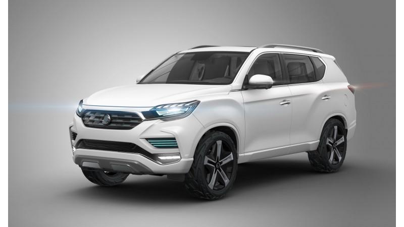 2016 Paris Motor Show: Ssangyong LIV-2 concept unveiled