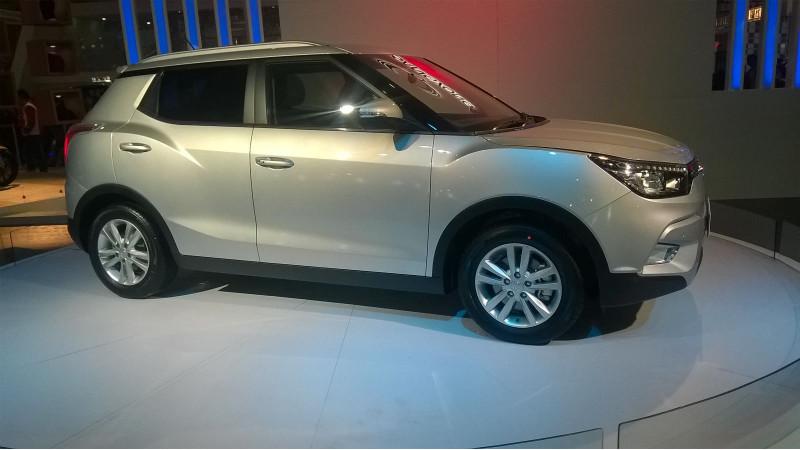 2016 Auto Expo: SsangYong Tivoli revealed