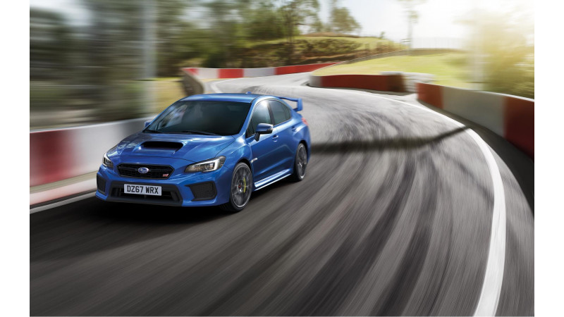 Subaru UK launches WRX STI Final Edition
