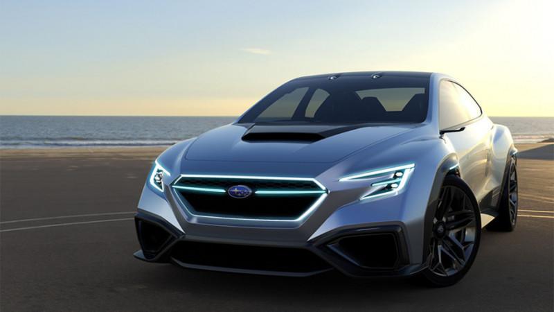 Subaru might make the next-gen WRX STI a hybrid
