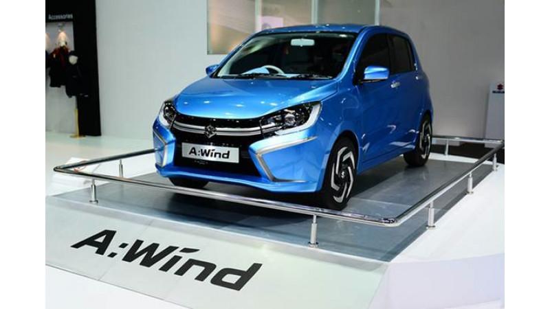 Suzuki A Wind Concept Showcased At 2013 Thailand International Motor