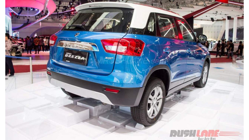 Suzuki Vitara Brezza unveiled at the 2016 Indonesia Auto Show