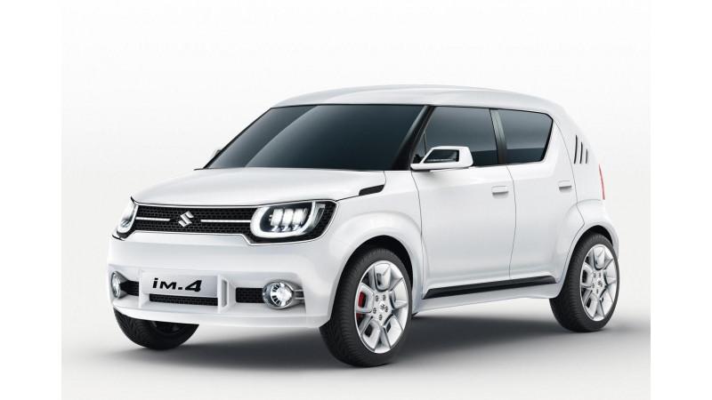 Suzuki iM-4 compact SUV concept unveiled at 2015 Geneva Motor Show