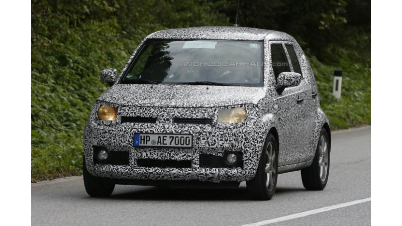 Suzuki iM-4 mini SUV snapped testing for the first time