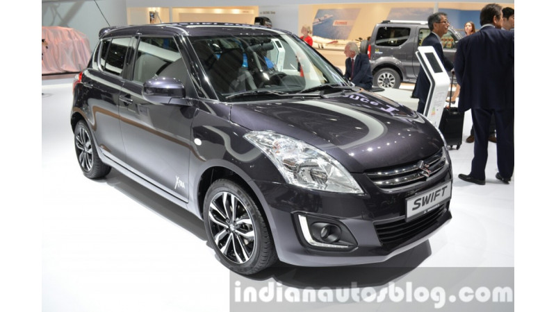 Suzuki showcases Swift XTRA Edition at 2015 Frankfurt Motor Show