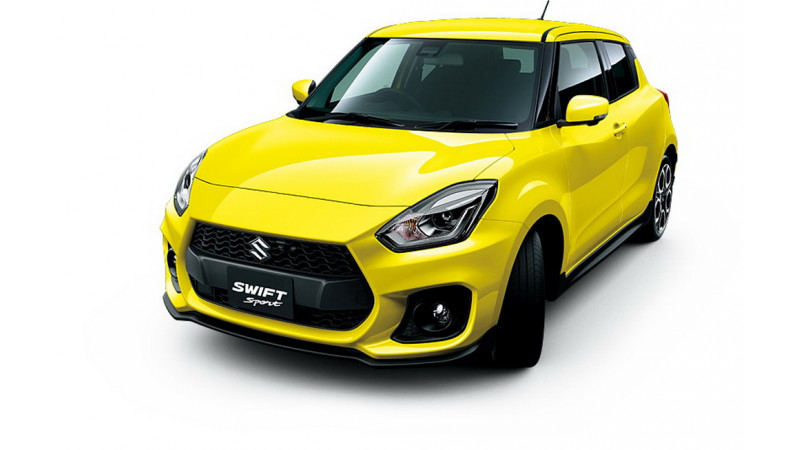 Suzuki Swift Sport official details out ahead of Frankfurt debut