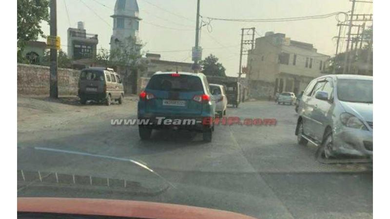 Suzuki Vitara test mule images leaked