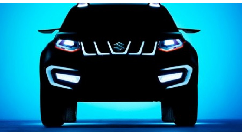 Suzuki iV-4 set to rival the Ford EcoSport