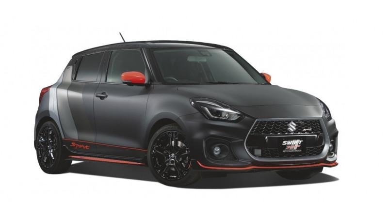 Suzuki Swift Sport Auto Salon revealed