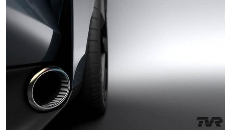 TVR teases new 320kmph supercar