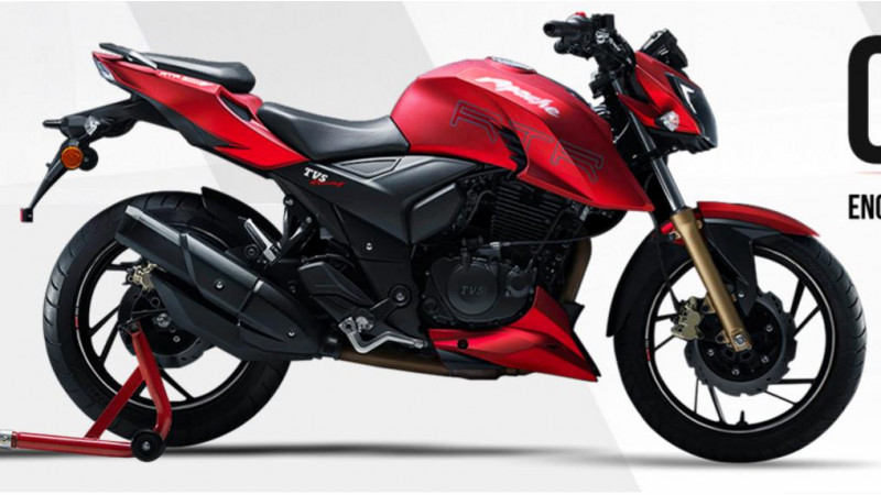 TVS Apache RTR 200 4V specs and images revealed