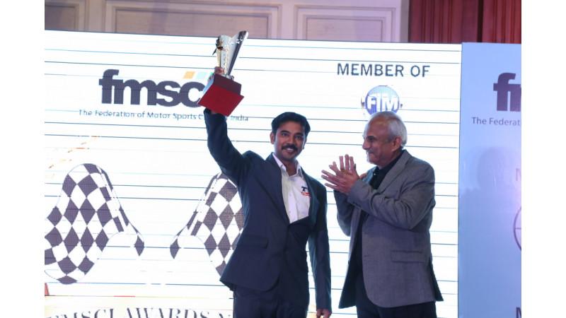 TVS Racing bags top accolades at the FMSCI-2015 awards