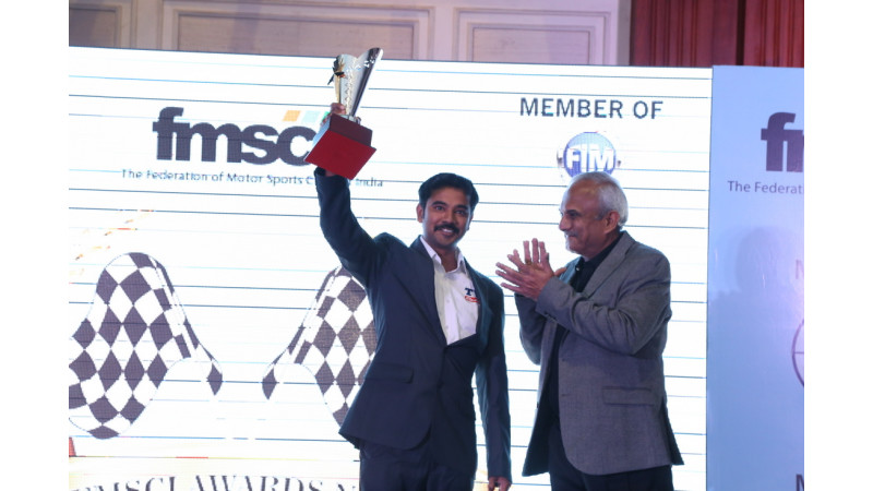 TVS Racing bags top accolades at the FMSCI-2015 awards