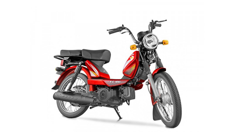 TVS XL 100 launched in India for Rs 29,539