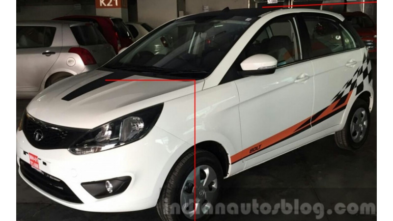 Tata Bolt Celebration Edition leaked prior to launch