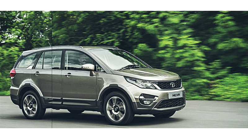 Tata Hexa to be unveiled at the 2016 Auto Expo