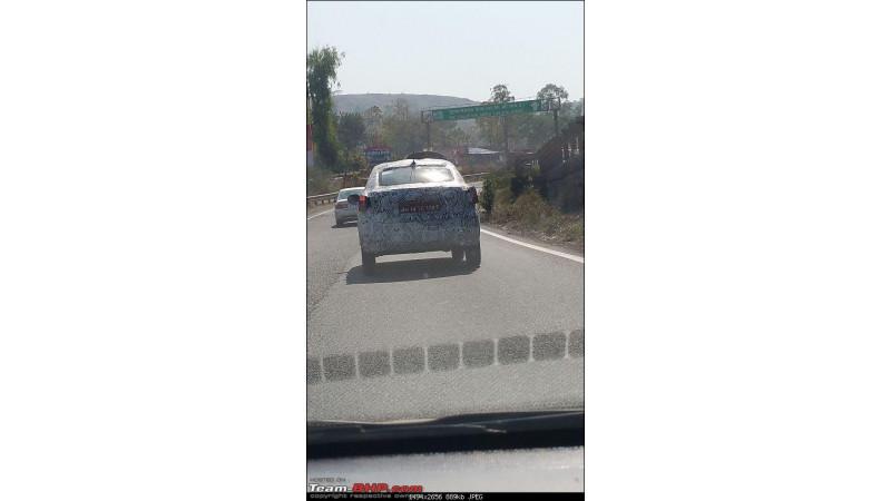 Tata Zica sedan spotted